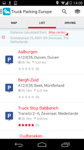 100 Truck Stop App Parking Europe New Version Of Popular App Is Now Available