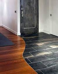 Laminate Floor Transitions To Tiles by Installing Hardwood Against Tile Transition Without Moldings