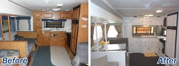 16 Year Old Jayco Travel Trailer Gets Interior Decor Makeover