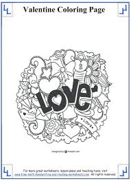Valentines Day Coloring Pages For Adults Disney Princess Kindergarten Full Size