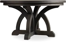 Hooker Furniture Dining Room Corsica Dark Round Dining Table ...