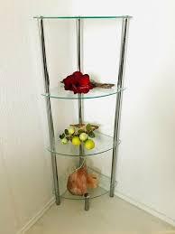 glas eckregal yago regal glasböden chrom hoch badezimmer dusche