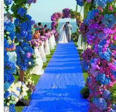 Blue And Purple Wedding Decorations Source Mediatheknot