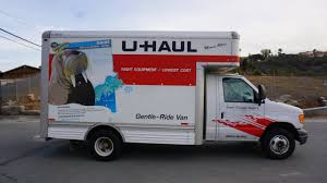 100 Box Truck Rentals U Haul Review Video Moving Rental How To 14 Van Ford Pod