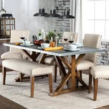 Furniture Of America Dining Tables Industrial Rustic