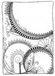 Zen Doodle Coloring Book June Crawford