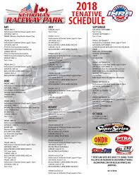 2018 Schedule   St Thomas Raceway Park 2017 Nascar Truck Series Schedule Mpo Group Stadium Super Race 2 Hlights Youtube Best In The Desert Offroad Mencs Nxs Ncwts Full Weekend Track Map Full Weekend Schedule Nscs Dover Intertional Kentucky Speedway Nascar The Strip At Lvms To Host Two 2019 Nhra Mello Yello Drag Racing Tms Adds Stadium Super Trucks To Race Texas Motor News Latest Headlines Upcoming Races And Events Southern National Motsports Park 2018 Lucas Oil In Association With Wub
