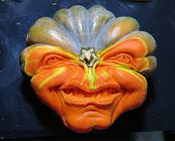 Largest Pumpkin Ever Carved by This Guy Makes The Scariest Pumpkin Carvings Ever