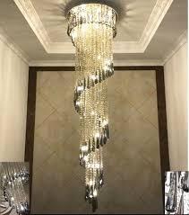 led modern stair chandelier living room l ceiling