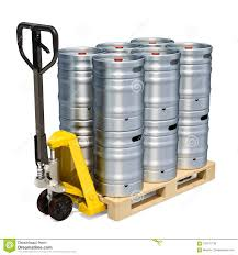 Hydraulic Pallet Truck With Beer Metallic Kegs, 3D Rendering Stock ... Stainless Steel Keg Trolley With Tyres Vevor Stair Climbing Cart 330lbs Capacity Portable All Terrain Keg Dolly Webstaurantstore Milwaukee 1000 Lb Convertible Modular Alinum Hand Truck For Kegs Loop Handle 10 Flat Free Wheels School Specialty Canada Part No 210353 4wheel Drum On Wesco Industrial Products Inc Hideaway Collapsible Safco Bar Maid Kpc100 And Pail Costway Platform 330 Lbs Folding