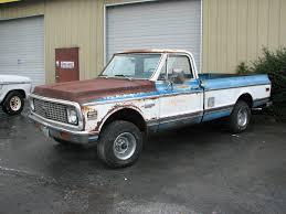 1972 Chevrolet Cheyenne Super K10 4x4 Pickup, 1 Owner, 104K Miles, 4 ...