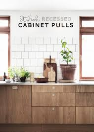 Wayfair Kitchen Cabinet Pulls by Remodeling Resources Stylish Recessed Cabinet Pulls Apartment