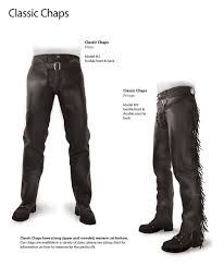 leather motorcycle riding chaps