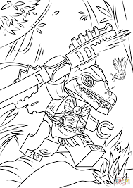 Chima Coloring Page Lego Cragger Free Printable Pages To Print