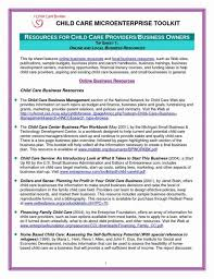 Large Size Of Daycare Business Plan Template Columbiaconnections Org Templates Center Resume Examples 2018 791 Executive