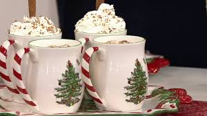 Spode Christmas Tree by Spode Christmas Tree S 4 14 Oz Candy Cane Mugs On Qvc Youtube