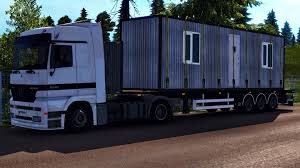 FLATBED TRAILER & CARGO PACK   ETS2 Mods   Euro Truck Simulator 2 ...