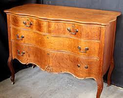 Tiger Oak Dresser Chest serpentine dresser etsy