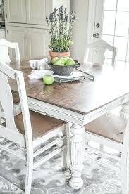 Painted Dining Room Table Antique Updated With Chalk Paint