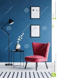 Red Chair In Blue Interior Stock Photo. Image Of Decor ... 10 Red Couch Living Room Ideas 20 The Instant Impact Sissi Chair Palm Leaves And White Flowers Sofa Cover Two Burgundy Armchairs Placed In Grey Living Room Interior Home Designing A Design Guide With 3 Examples Jeremy Langmeads English Country Home For The Digital Age Brilliant Accessory Licious Image Glj Folding Lunch Break Back Summer Cool Sleep Ikeas Memphisinspired Vintage Collection Is Here Amazoncom Zuri Fniture Chaise Accent Chairs White Kitchen Stock Photo