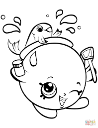 Click The Goldie Fishbowl Petkins Shopkin Coloring Pages To View Printable Version Or Color It Online Compatible With IPad And Android Tablets
