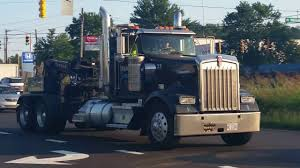 100 Kenworth Tow Truck W900 Tow Truck With Dynaflex Straight Pipes YouTube