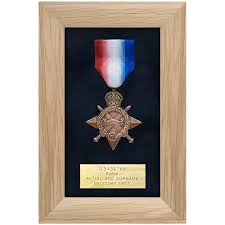 Medal Display Frame Single O Makers