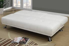White Leather Sofa Bed Ikea by White Leather Twin Size Sofa Bed Steal A Sofa Furniture Outlet