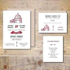 Barn Wedding Invitations 4787 Also Printable Invitation Digital File Rustic