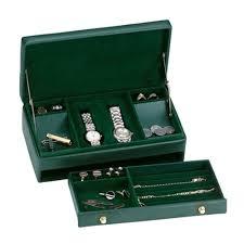 Dresser Valet Watch Box by Men U0027s Leather Jewelry Box Leather Watch Valet