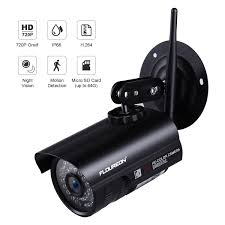 FLOUREON 1080P Wifi 27135mm H264 Wireless CCTV Security TF Micro