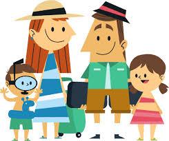 Vacation Clipart Family Travel 3
