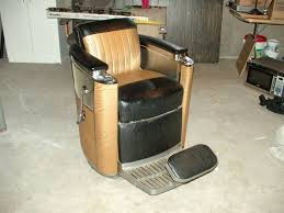 Koken Barber Chair Vintage by Barber Shop Chair For Sale