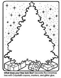 FREE Printable Christmas Coloring Pages And Activity Sheets Such As Decorating This Cool Tree