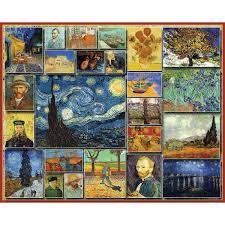 White Mountain Puzzles Jigsaw Puzzle Vincent Van Gogh JOANN