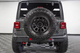 2018 Jeep Wrangler Rubicon Unlimited JL Sting Gray