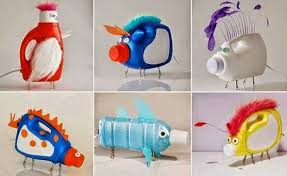 Wonderful Handmade Dolls Out From Waste Plastic Cans And Bottles