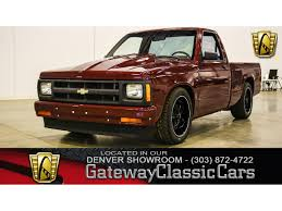 100 S10 Chevy Truck For Sale 1991 Chevrolet For ClassicCarscom CC1157778