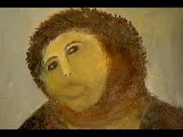 Famous Spanish Mural Artists by Spanish Fresco Restoration Botched By Amateur Youtube