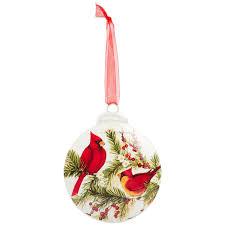 Cardinal Christmas Ornament Brownlow