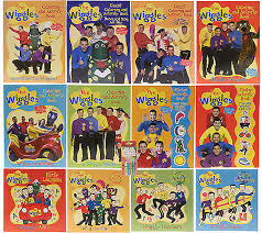 The Wiggles 13 Piece Color And Activity Books QVC