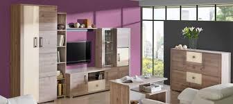 7 teiliges wohnzimmer esszimmer set wohnwand vitrine regal kommode komplett neu