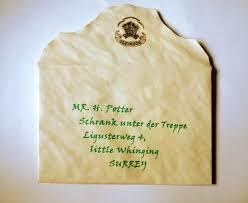 Do It For Yourself Mein Hogwarts Brief DIY Selber Machen