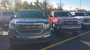 2016 GMC Sierra Hidden Next To 2015 Models At Local Dealership ... 2018 New Gmc Sierra 1500 4wd Double Cab Stadnard Box Slt At Banks 2016 Used Crew Short Denali Trucks For Sale In Fredonia United States 66736 1989 R3500 Utility Bed Pickup Truck Item Da5549 Sold 2015 Chevrolet Silverado Hd And First Drive Motor 1949 100 Pickup Olred 49 1 I Otographed This Th Flickr Rat Rod Truck The Code Motorama Youtube W Fbss Air System Cce Hydraulics Chevy Suburban Adrenaline Capsules Pinterest Cars Rich Franklin His 6400 2 Ton Franklin 2017 2500 3500 Duramax Review Sep Standard Sle