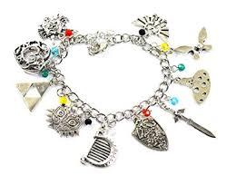 legend of zelda charm bracelet cosplay accessories wind waker