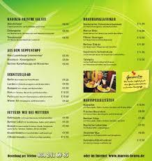 speisekarte lieferservice deutsche küche berlin by