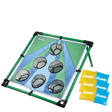 Franklin Sports-Bean Bag Toss With Carry Bag | Stoneberry Verus Sports 3in1 Tailgate Combo Bag Toss Ladderball Halex Find Offers Online And Compare Prices At Storemeister Amazoncom Beach Jai Lai Botas Purplegreen Disc Dunk Ring Games Outdoors Washer Target Outdoor Washers Game Bean Rules Majik Tic Tac Toe Gaming Inflatable Couch Air Tube Chair