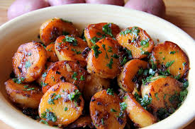 Simply Spiced Baked Red Potatoes