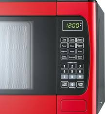Red Microwave Oven Kenmore 11 Cu Ft 1000 Watt Combination Ovens