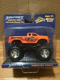 100 Bigfoot Monster Truck Toys Image Tatebigfootmonstertruckorangebytoystatejpg